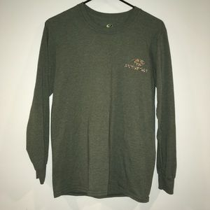 Mossy Oak long sleeve t front and back logo